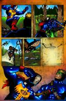 pages by   ultimate comics by joseisai