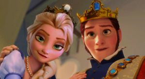Queen and King of Arendelle by Simmeh
