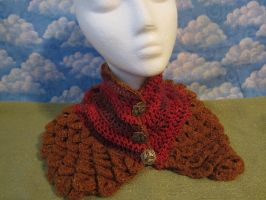 Dragonscale Cowl by Rei2jewels