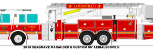 Louisville Fire Dept. Tower 2 by MisterPSYCHOPATH3001
