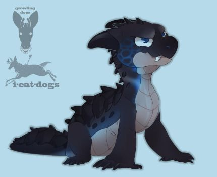 baby dragon auction by i-eat-dogs