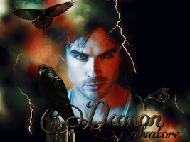 Damon Salvatore by Gwiazdkax3