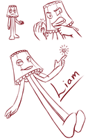 Liam Doodles by Crystal-Comb