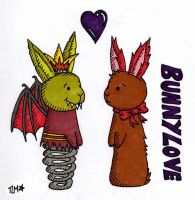 Bunny Love by BeckyBumble