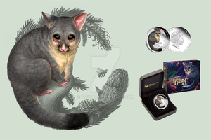 Bush Babies II : Possum by T-Tiger
