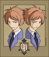 +Ouran HS Host Club+Twins by KariNeko