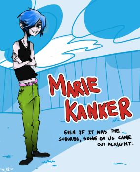 hey look i drew marie kanker by Kid-Kapow