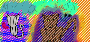 My Cats by Art-game-lover