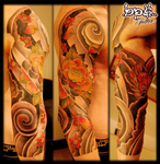 lotus spiral by BPS-TATTOO