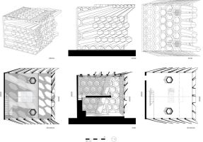 Anamorphic Projection Study by Karimi