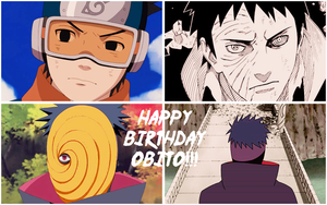 Happy Birthday Obito Uchiha!!! by Before-I-Sleep