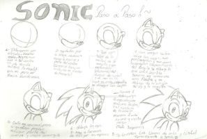 Paso a Paso - Sonic by EliHedgie95