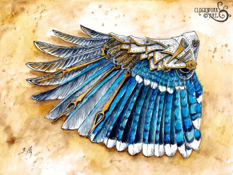 Bluejay Wing: A Study in Clockwork by bcduncan