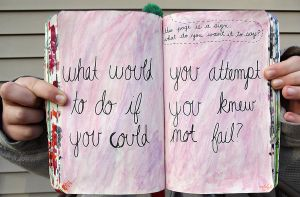 Wreck This Journal: This Page Is a Sign. by HeavenlyWitchx