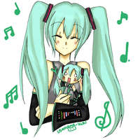 Miku and Miku by Usamimi-kun
