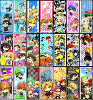 Bookmarks for Otakuthon 12 by Shumijin