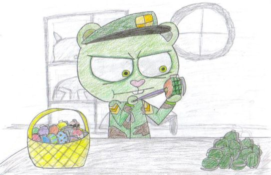 Hand Gren-egg Hunt... by str00p