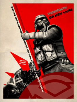 Under The Flags of Helghast by ropa-to