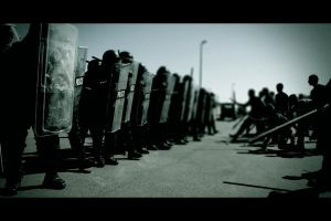 Crowd and Riot Control by fstrgar
