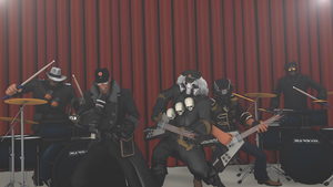 [SFM] TF2 Band by LurioAsplund