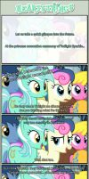 Foreshadowing: At the coronation ceremony by TriteBristle