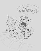 SpamFish MarioKart AssBandits by p00se2
