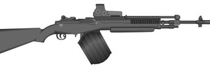Mk. 14 Machine Rifle mod by GrimReaper64