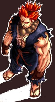 GOUKI color practice by Brolo