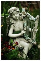 The Fairy In The Garden by erbphotography