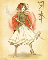 The Lady of the Rising Sun by Touzaiko