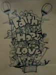 Faith Hope Love by jesalva