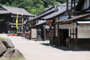 Old Japanese Village by 7-a-M-o-O-o-D