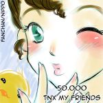 thanks for 50k by FantasyHeart