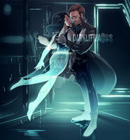 LoT: Rip Hunter and Gideon by DarkLitria