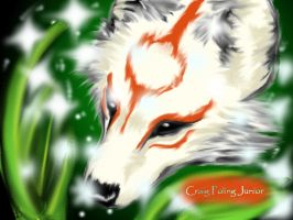 Okami Fan-Art by foxes76133