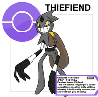 thiefiend by Cerulebell