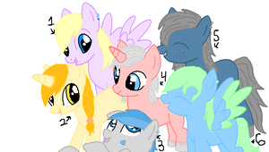 MLP Adoptable 3 by JewelThePonyLover12