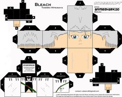 Cubee - Toshiro - Bleach by AnimeShark20
