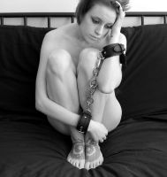 Bound--by chains and thoughts- by Blondbarcoded