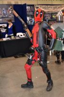Deadpool Cosplay at 2015 Sydney Supanova by rbompro1