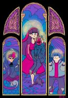 The Holy Trinity by mostlymimsy