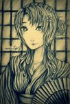 Realistic Female Anime Character (Sketch) by Raika-nee-chan
