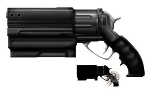 Revolver Concept by Cru-the-Dwarf