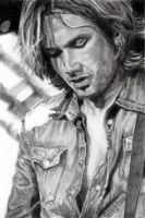 Keith Urban Looking Down by Catluckey