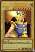 YGO Card: Set, High Priest of Thoth by HC-IIIX