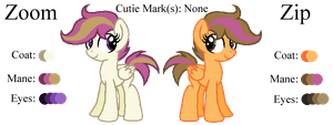 MLP:Zoom and Zip Profile by kiananuva12