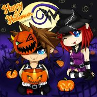KH - Happy Halloween 2013 by DaphInteresting