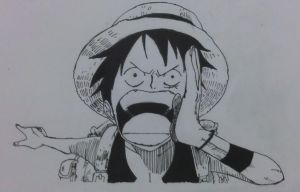 Luffy by Turskeluth