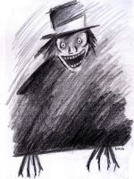 The Babadook by AnAdminNamedPaul
