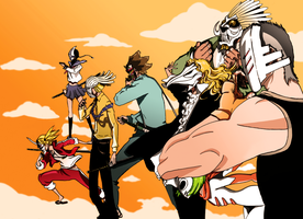 Bleach 365 - The Vizards by Lozeng3r